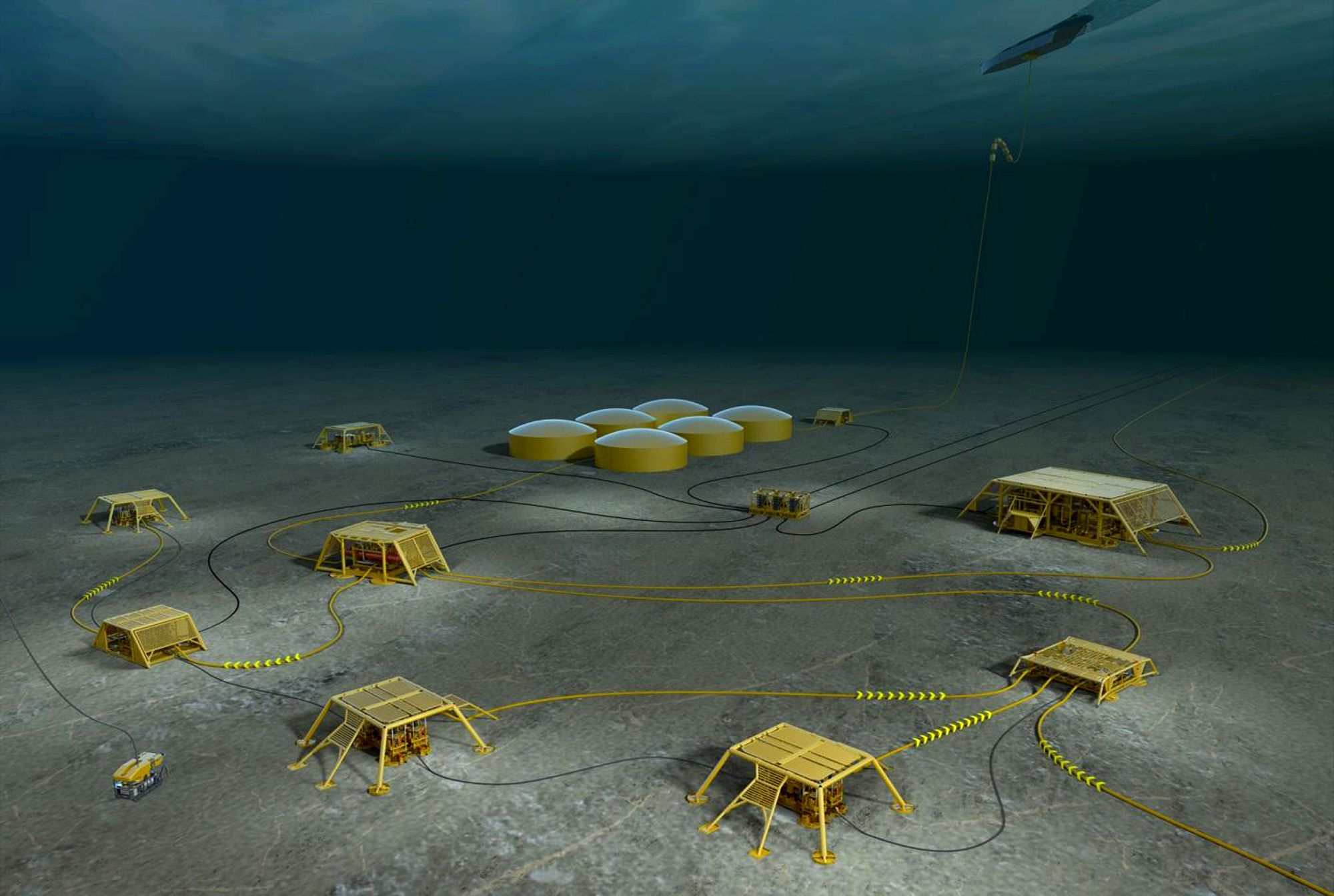 Abb to power subsea gas and oil field within the deep norwegian ocean gas and oil industry