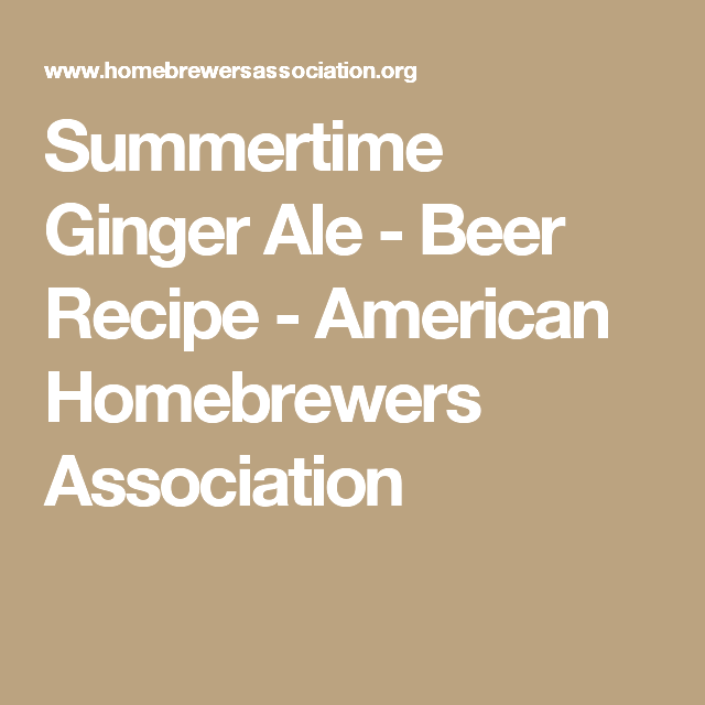 Ale of asgard - beer recipe - american homebrewers association completely and pitch