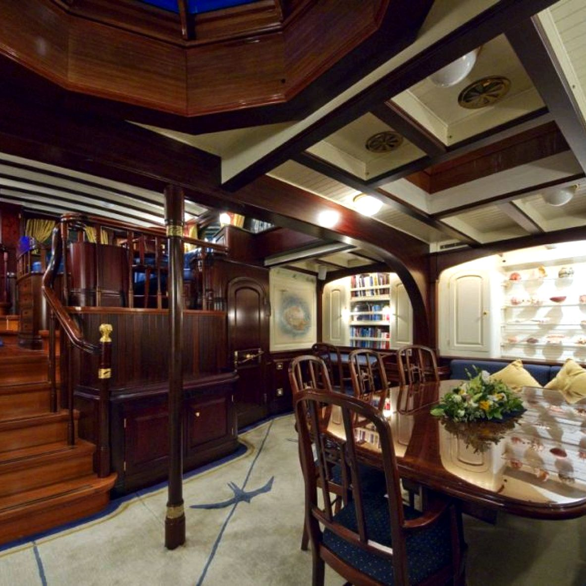 Asgard details, information, pictures Cunard, facade, glissade, guard