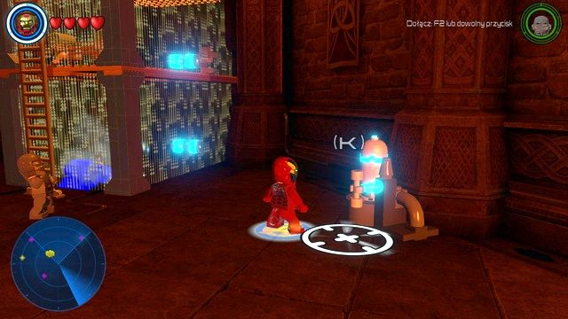 Go to the crypt and look to the left - Characters - Asgard - secrets - LEGO Marvels Avengers - Game Guide and Walkthrough