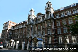 Thor: The Dark World filming location: Blythe House, Blythe Road, London W14