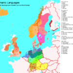 Germanic languages and germanic paganism