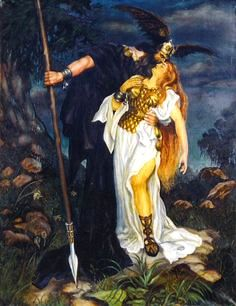 Is grendel a combination of germanic and scandinavian mythology? for his crime