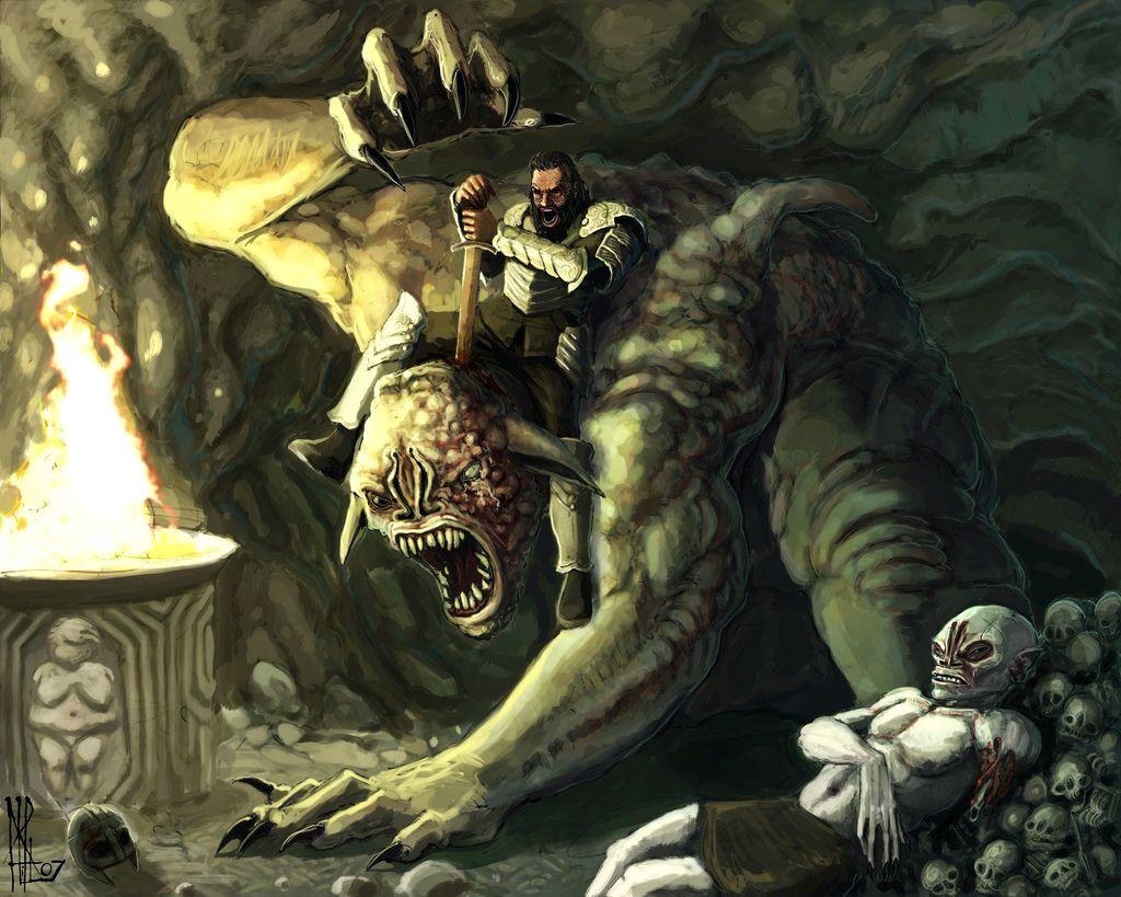 Is grendel a combination of germanic and scandinavian mythology? scriptural origin