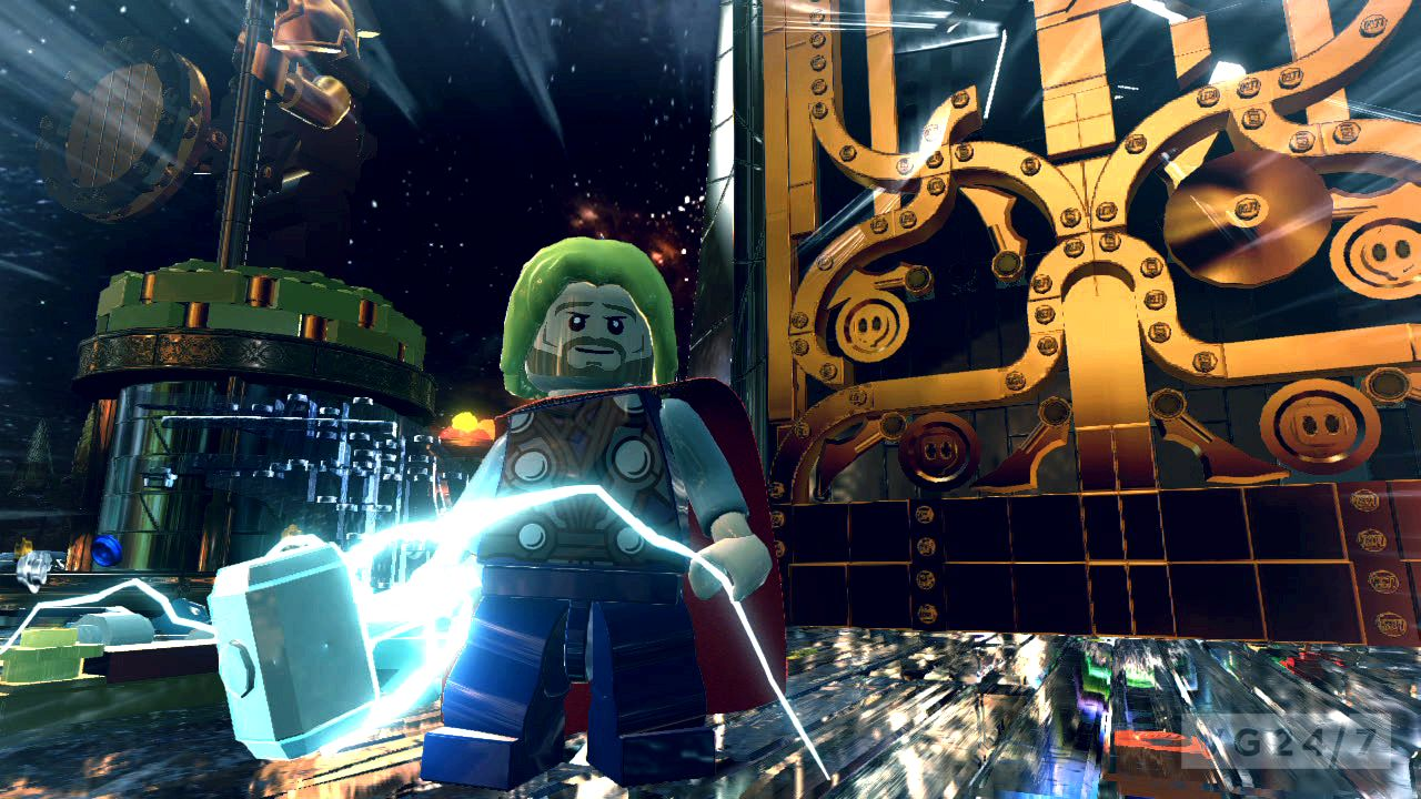 Lego marvel super heroes screenshots go ahead and take action to asgard The Destroyer, that is