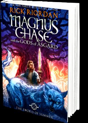 Magnus chase and also the gods of asgard Magnus runs, avoiding them