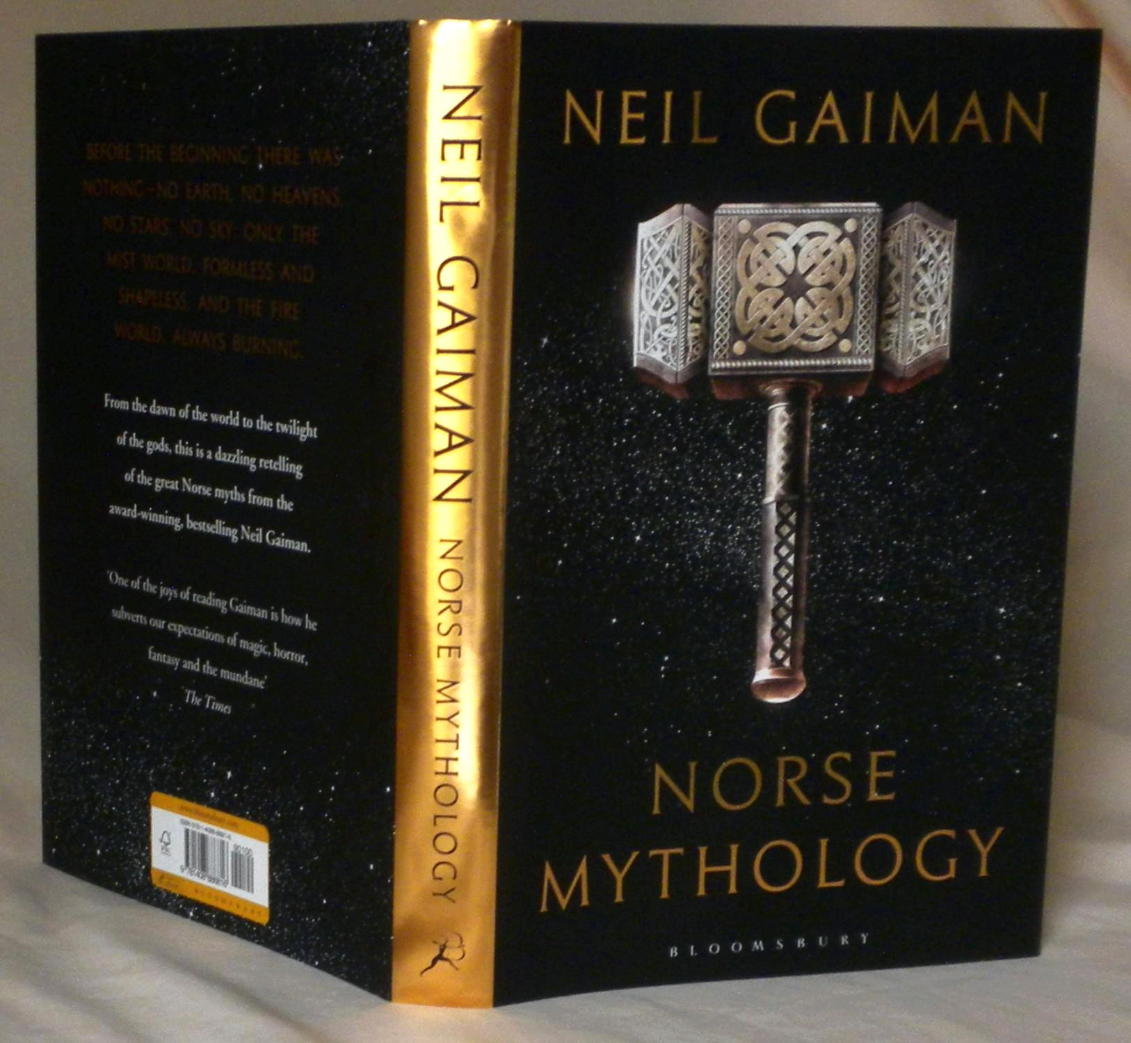 Neil gaiman's next book will explore norse mythology though probably not