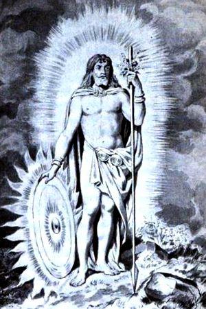Norse mythology - the gods from the vikings within the    Eddas