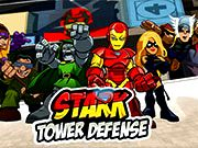 Superhero Squad Stark Tower Defense game