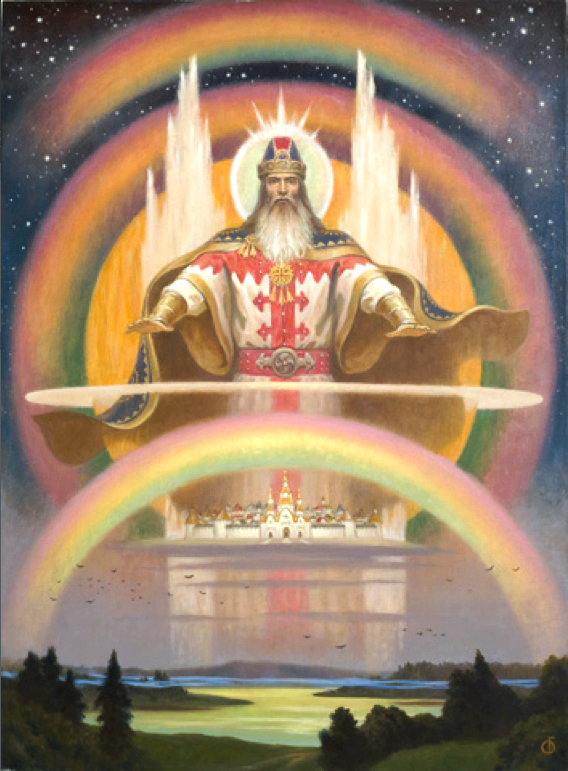 Slavic deities: perun - slavic native belief as in many forms survived