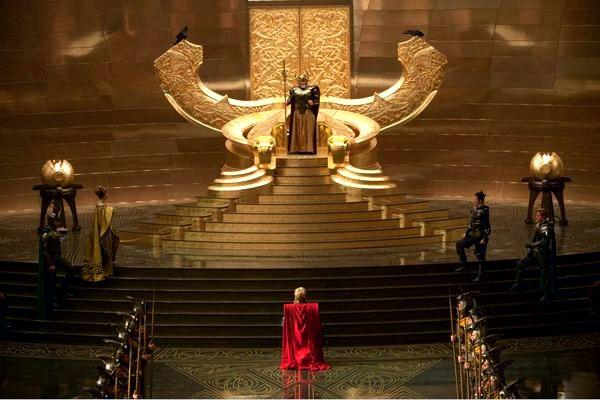 Thor Asgard First Look Marvel Studios Thor