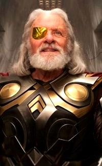 Anthony Hopkins as Odin in Thor Comic-Con