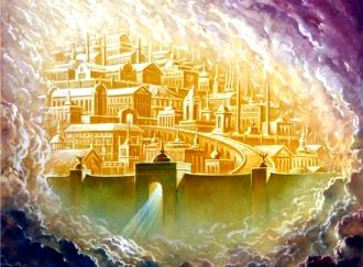 The celestial city thought 21:9-27 and also the occupants