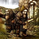 The origins dwarves in germanic folklore and mythology