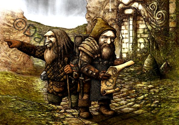 The origins dwarves in germanic folklore and mythology able to